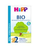 HiPP,2 section Organic infant formula milk powder 800g, Germany