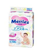 Merries,Large paper diapers L code, 54 tablets