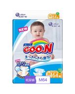 GOO.N,Vitamin E medium size paper diapers M code, 64 tablets