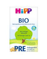 HiPP,pre section Organic infant formula milk powder 600g, Germany