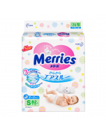 Merries,Paper Diapers Size S, 82 tablets