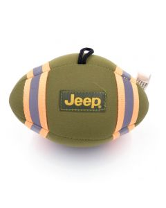 Billipets, Jeep Squeaky Canvas Rugby With Rope