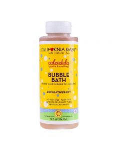 California Bady,Calendula Bubble Bath for Eczema Prevention 384ml