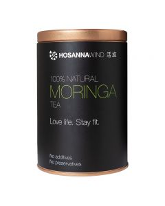 HosannaWind, 100% Natural Moringa Tea 150g, USDA, Euro-leaf