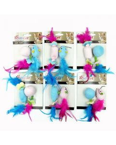 Billipets, Kitten Catnip Toys With Fur