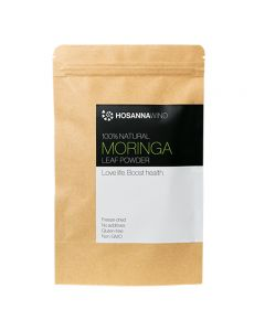HosannaWind,100%Natural Moringa Leaf Powder 50g, USDA, Euro-leaf